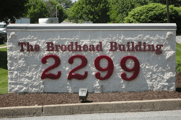 identify building sign
